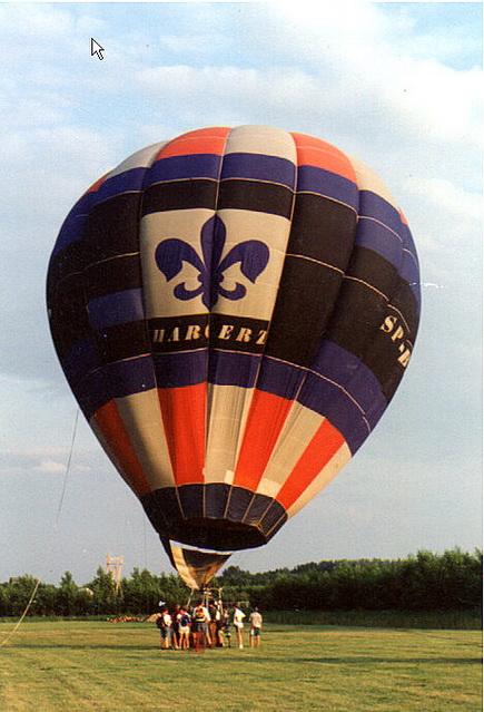 balon harcerz po ob
